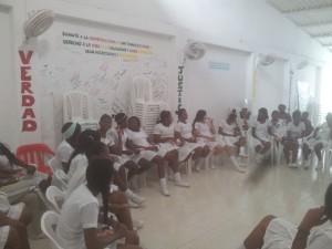 Casa de la Memoria Tumaco visitas de colegios