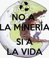 No a la minería