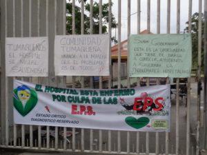 Los mensajes de protesta de los empleados